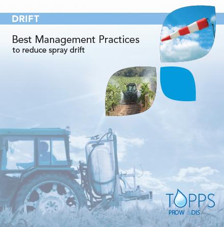 Drift-Best Management Practices to reduce spray drift